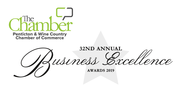 2019 Penticton Chamber of Commerce Business Excellence Awards